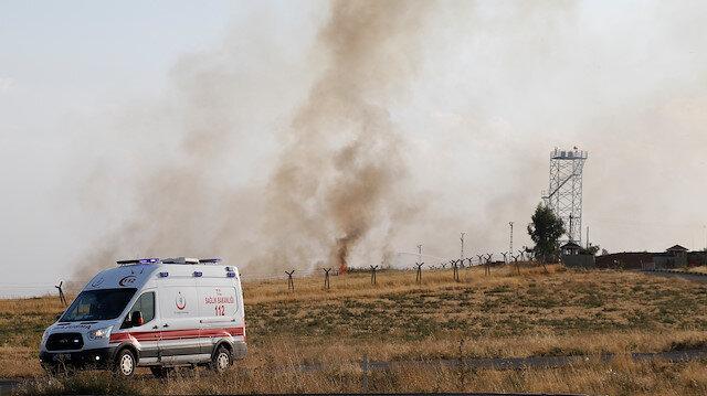 Nusaybin'e 4 havanlı saldırı: 1 asker yaralı