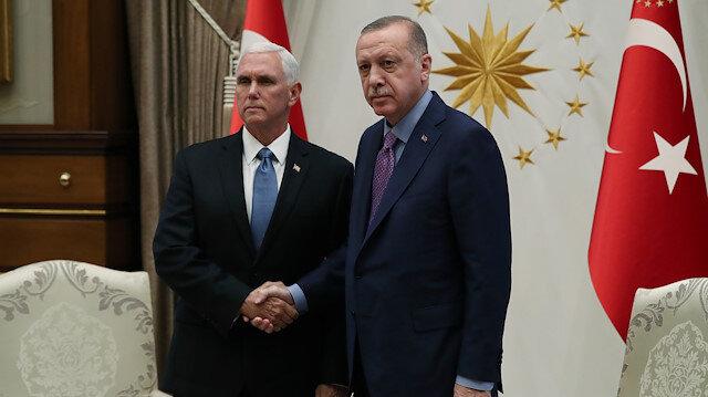 Erdoğan-Pence görüşmesi sona erdi