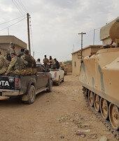 Tel Abyadda mayın veroket deposu bulundu