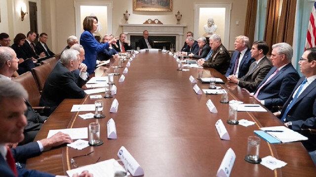 Beyaz Saray'daki Barış Pınarı Harekatı toplantısında gerginlik: Toplantıyı terk ettiler