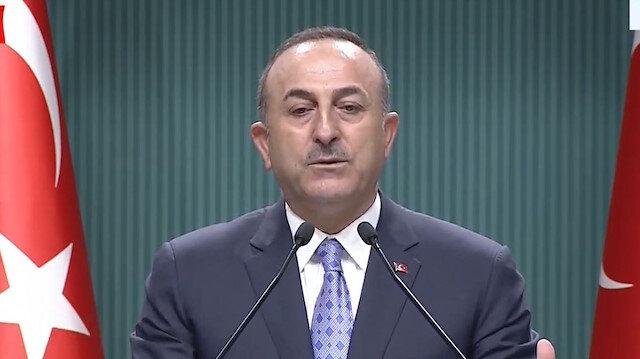 Mevlüt Çavuşoğlu: Sadece çekilme değil silahlar bırakılıp mevziler yok edilecek