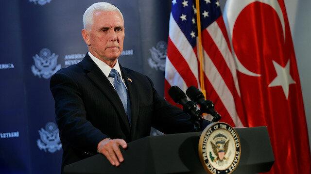 ABD Başkan Yardımcısı Mike Pence: 120 saat ara verildi YPG geri çekilecek