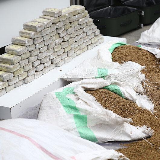 Over 40 kg of heroin seized in eastern Turkey