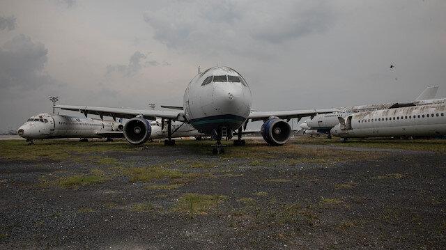 Sadece bir başvuru oldu: Atatürk Havalimanı'nda bırakılan 16 uçağın sahibi çıkmadı
