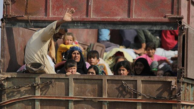 Halk, Tel Abyad'a dönüyor.