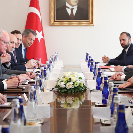 Turkish foreign minister meets top US security advisor