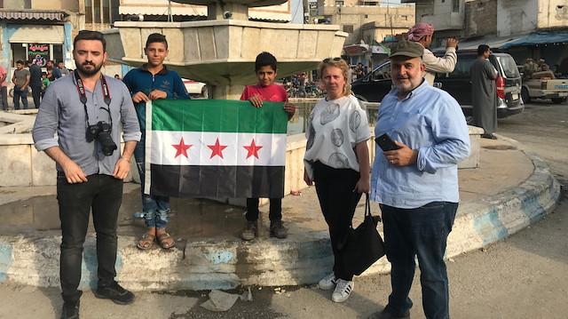 Yeni Şafak Tel Abyad'da