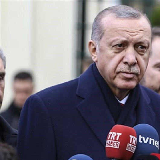PKK/YPG terrorists begin withdraw from Syria safe zone: President Erdoğan
