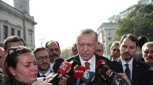 Cumhurbaşkanı Erdoğan: Güvenli bölgeden teröristlerin çekilmesi başladı