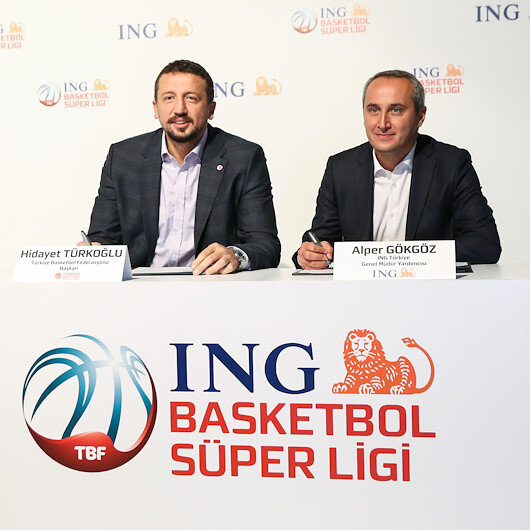Dutch ING group sponsors Turkish basketball league