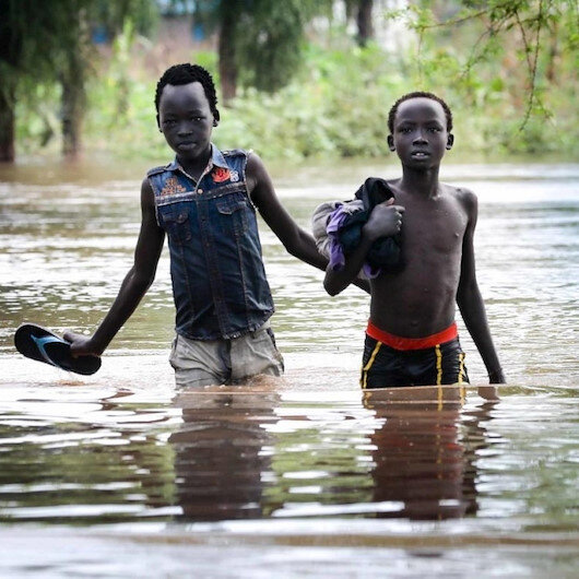 Unprecedented flooding affect 200,000 people in S.Sudan