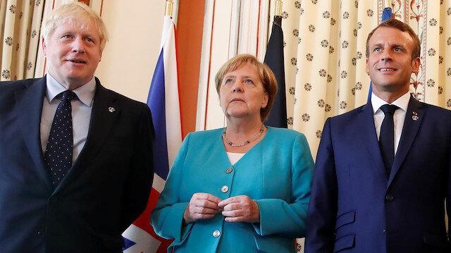 Fransa'dan Suriye buluşması açıklaması: Merkel ve Johnson ile Erdoğan'la görüşeceğiz