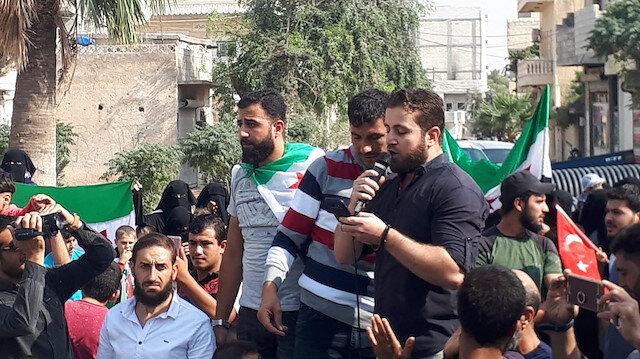 Halk ayaklandı: Münbiç, Türk askeri ve Suriye Milli Ordusu'nu bekliyor