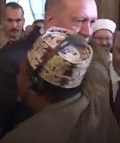 Erdoğanı gören Afrikalının sevgi gösterisi: Reis