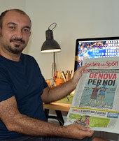 İtalyanın gündemindekiTürk karikatürist