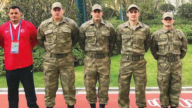 Asker güreşçilerimiz Mehmetçik için mindere çıkacak