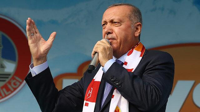 Cumhurbaşkanı Erdoğan: Olmazsa 120 saatin bittiği dakika başlarını ezeriz