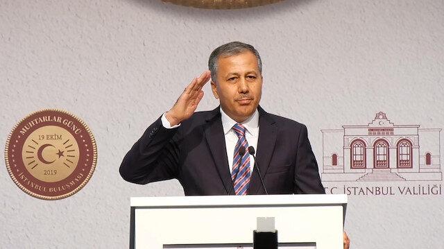 Bir asker selamı da İstanbul Valisi Yerlikaya'dan