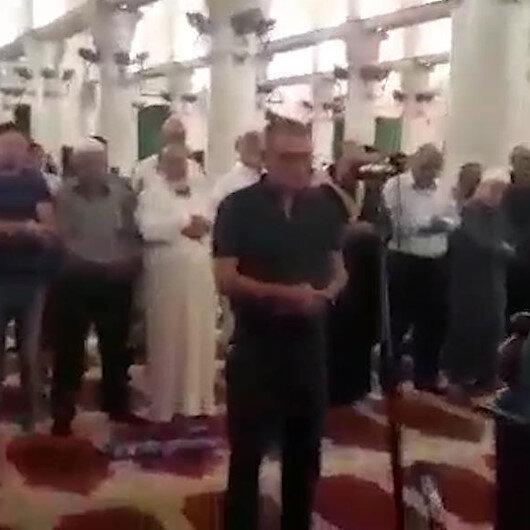 Nuri Pakdil için Kudüste gıyabi cenaze namazı kılındı