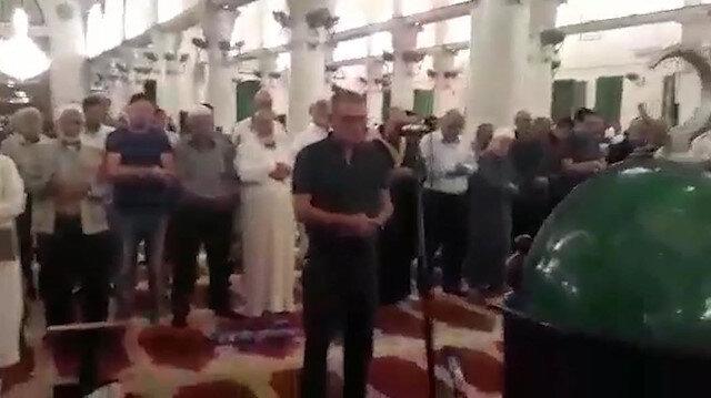 Nuri Pakdil için Kudüs'te gıyabi cenaze namazı kılındı