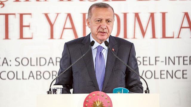 Cumhurbaşkanı Erdoğan İstanbul'daki dini liderler zirvesinde: Afrika'daki birçok karışıklığın ardından batılı silah şirketleri çıkıyor