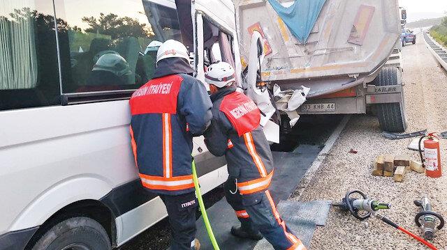 Akkuyu Nükleer Güç Santrali Projesi'nde çalışanlar trafik kazasında öldü