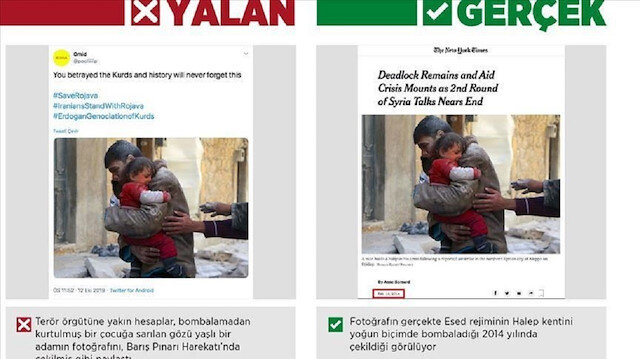استغلال لمآسي السوريين والفلسطينيين لتزيف الحقائق وتشويه