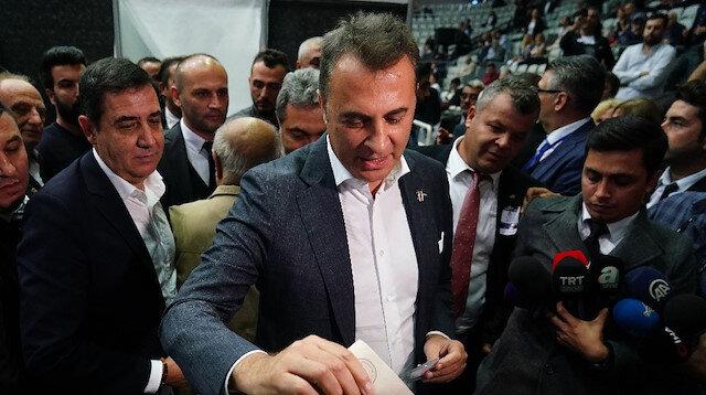 Fikret Orman oyunu kullandı: İç çekişmeler Beşiktaş'a zarar verir