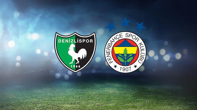 Yukatel Denizlispor-Fenerbahçe