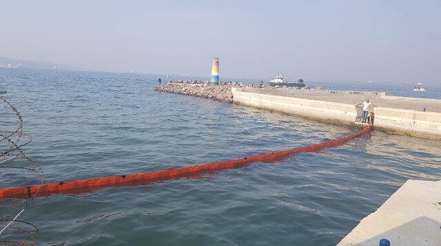 İzmir'de halkı tedirgin eden görüntü: Sahil şeridi kapatıldı