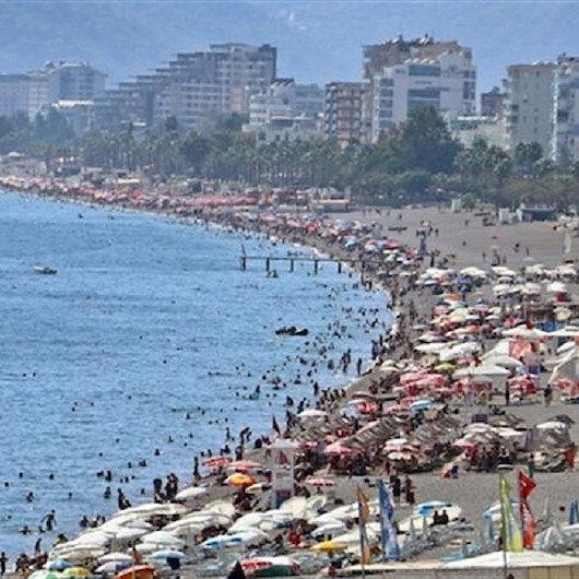 Turkey's Antalya sets all-time tourist record