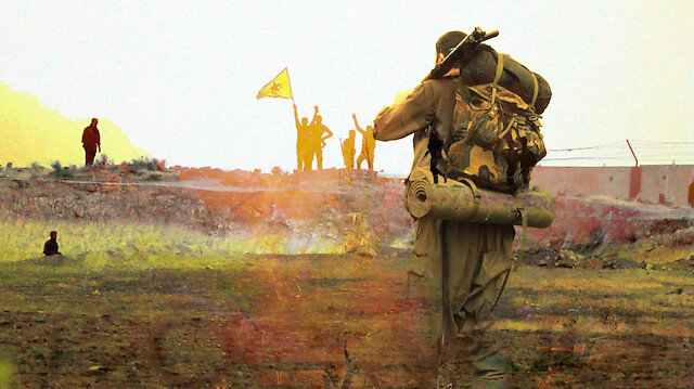 Hain plan deşifre oldu: PKK/YPG'li teröristlerden bu kez de 'üniforma' oyunu