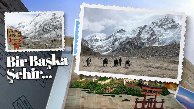 Dünyanın en yüksek rakımlı sınırı: Everest