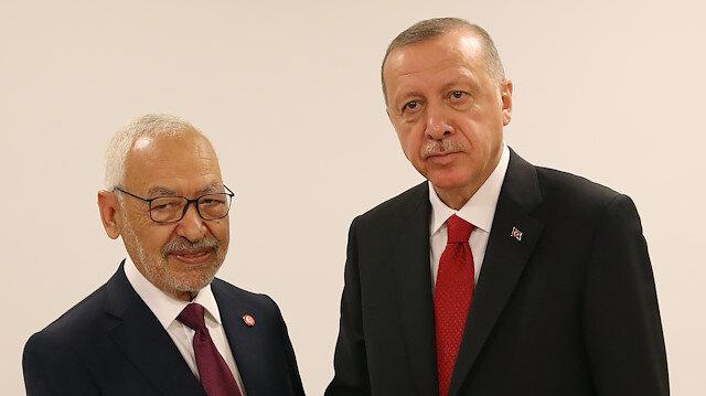 أردوغان يستقبل زعيم حركة النهضة