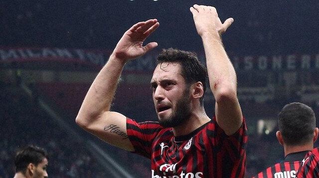 Hakan Çalhanoğlu attı, attırdı ama Milan'a yetmedi