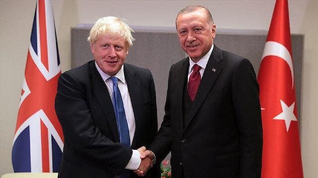 أردوغان وجونسون يبحثان العلاقات الثنائية وقضايا إقليمية