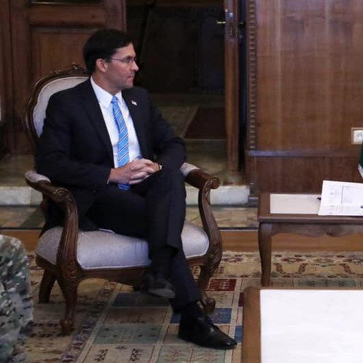 Sürpriz ziyaret: ABD Savunma Bakanı Esper, Afganistan Cumhurbaşkanı Gani ile görüştü