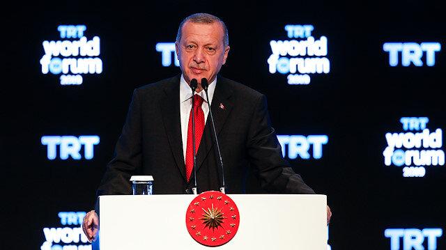 Cumhurbaşkanı Erdoğan'dan foruma katılmayanlara sert tepki: Fırsatı kaçırdınız