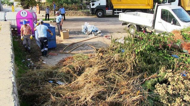 Bodrum'da ekipleri şoke eden olay: 85 ton çöp çıktı