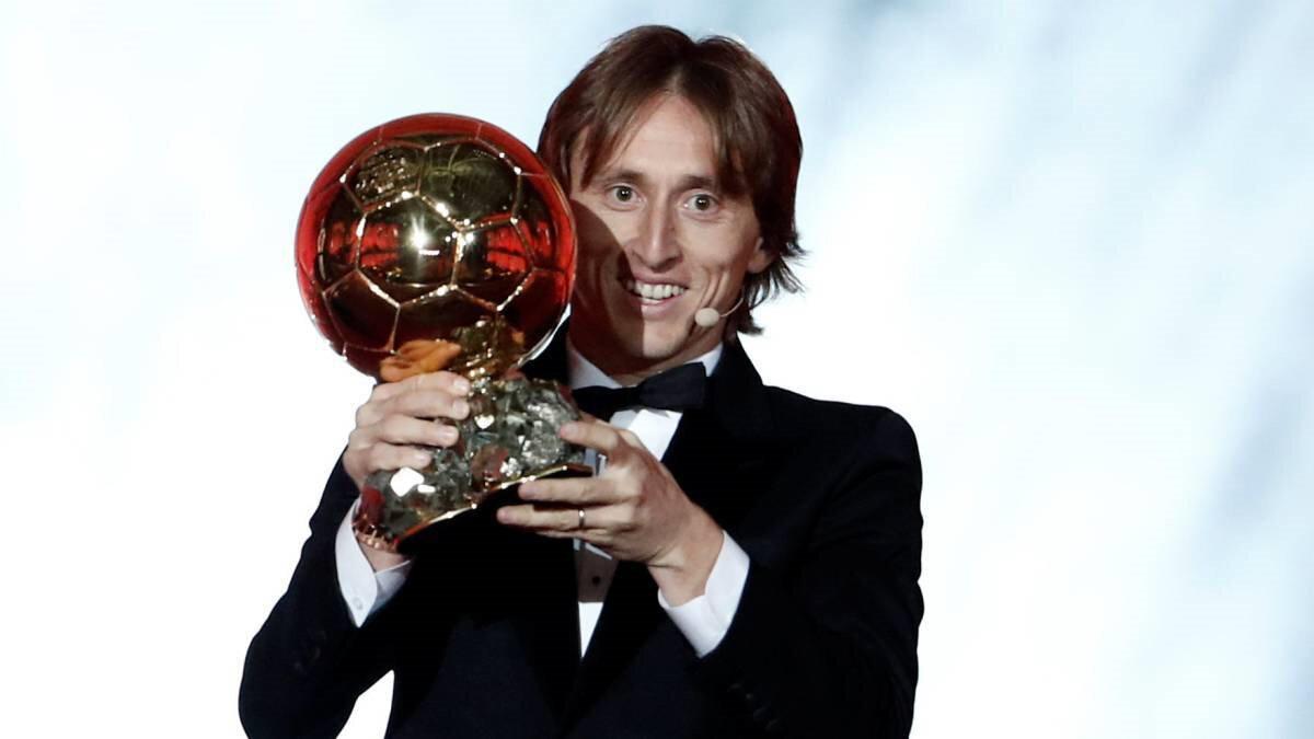 Mordic, Ronaldo ve Messi'yi geride bırakarak ödülün sahibi olmuştu.