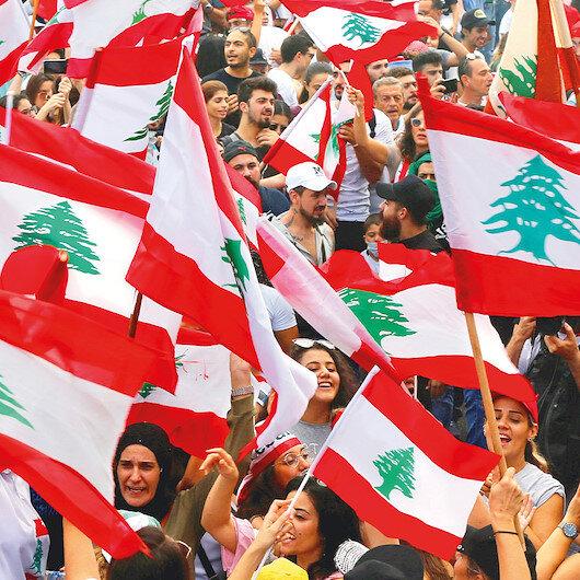 Lübnan'da Erdoğan'a destek sloganı