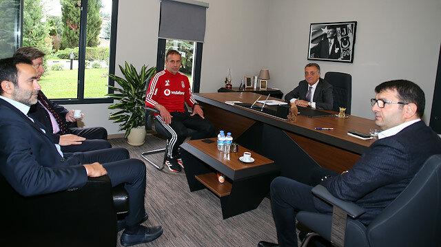 Başkan Çebi Abdullah Avcı ile görüştü