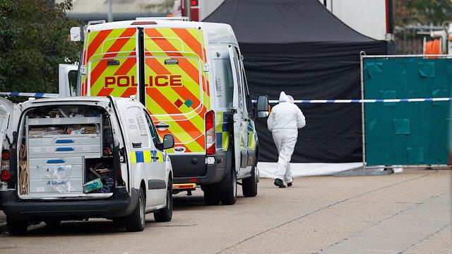 İngiltere'de bir kamyonda 39 ceset bulundu: Kurbanların arasında 10 yaşında bir erkek çocuk da bulunuyor