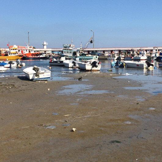 Tekirdağ'da deniz 15 metre çekildi: Balıkçı tekneleri karaya oturdu