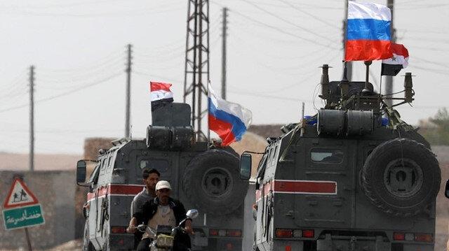 Türk Silahlı Kuvvetleri Münbiç'te Rusya ile ilk devriyeyi gerçekleştirdi