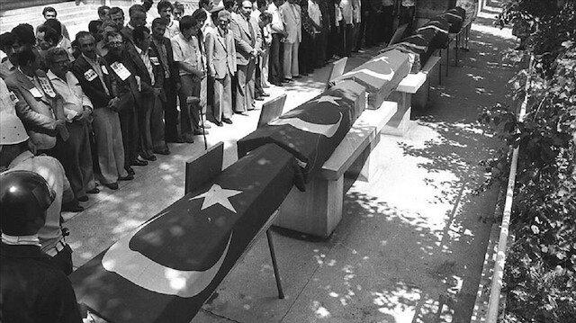 77 تركيًا بينهم 31 دبلوماسيًا استشهدوار جرّاء الإرهاب الأرمني