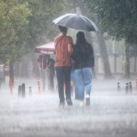 Meteoroloji'den Ordu, Giresun, Trabzon, Rize, Hatay, Gaziantep, Kilis, Şanlıurfa, Samsun ve Osmaniye için sağanak uyarısı