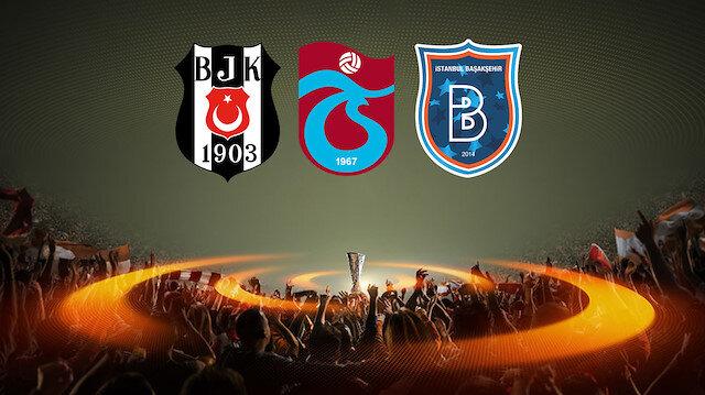 Üç temsilcimizin Avrupa maçlarından alacağı sonuçlar ülke puanı için büyük öneme sahip.