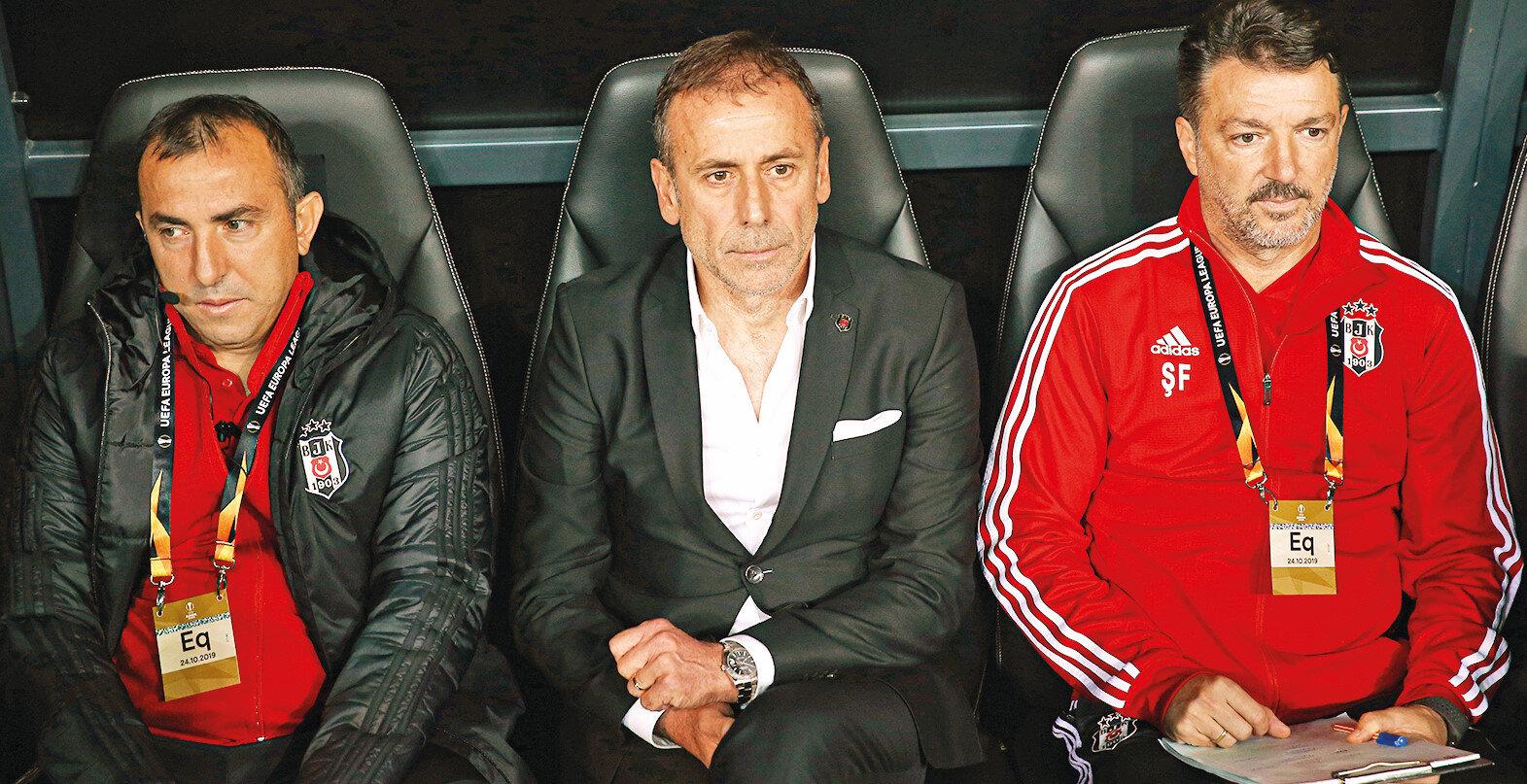 Beşiktaş teknik ekibi