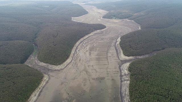 İstanbul'da iki baraj su yokluğundan kullanım dışı kaldı